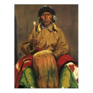 Portrait of Dieguito Roybal by Robert Henri Postcard