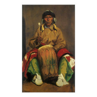 Portrait of Dieguito Roybal by Robert Henri Poster