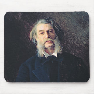 Portrait of Dmitri Vasilievich Grigorovich Mouse Pad