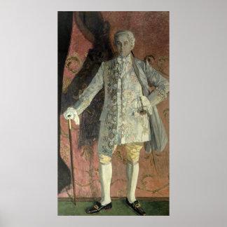 Portrait of Dmitry Smirnov Poster