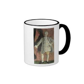 Portrait of Dmitry Smirnov Ringer Mug