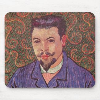 Portrait of Doctor Felix Rey - Van Gogh Mouse Pad