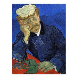 Portrait of Doctor Gachet by Van Gogh Postcard