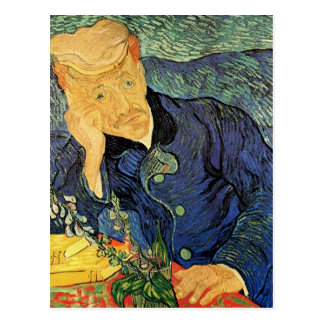 Portrait of Doctor Gachet by Vincent van Gogh Post Card
