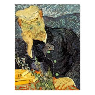 Portrait of Doctor Gachet by Vincent van Gogh Postcards