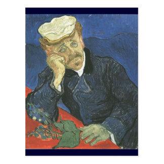 Portrait Of Doctor Paul Gachet Postcard