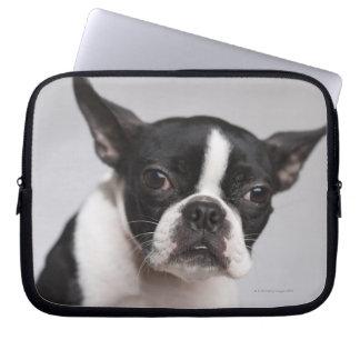 Portrait of dog laptop sleeve
