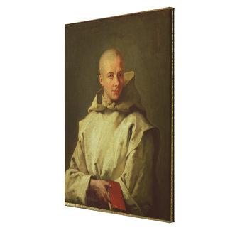 Portrait of Dom Baudouin du Basset of Gaillon, 171 Canvas Print