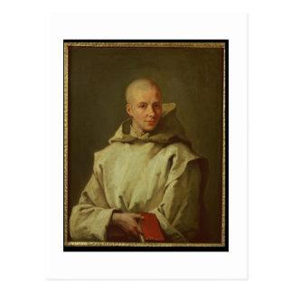 Portrait of Dom Baudouin du Basset of Gaillon, 171 Postcard