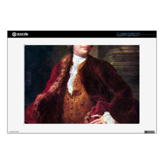 "Portrait of Domenico Annibali by Raphael 13"" Laptop Skin"