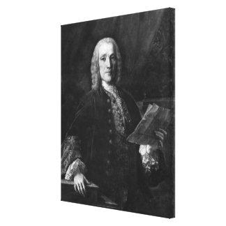 Portrait of Domenico Scarlatti Canvas Print
