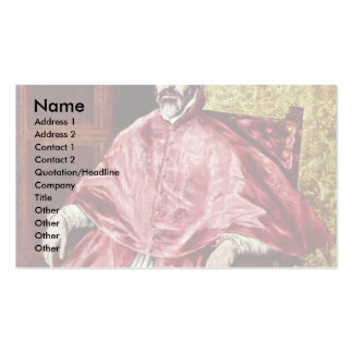 Portrait Of Don Fernando Double-Sided Standard Business Cards (Pack Of 100)