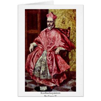 Portrait Of Don Fernando Greeting Card