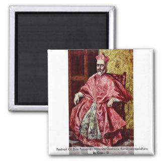 Portrait Of Don Fernando Fridge Magnets