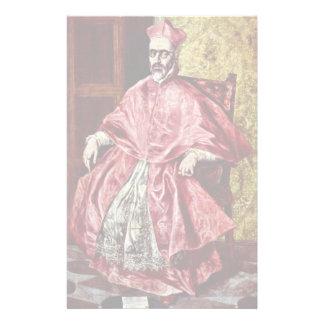 Portrait Of Don Fernando Stationery Paper