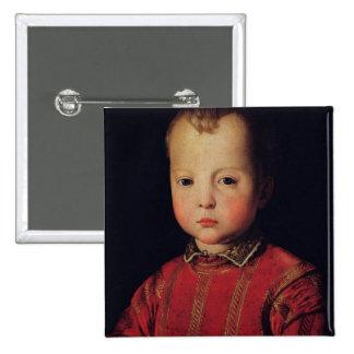 Portrait of Don Garcia Pinback Button