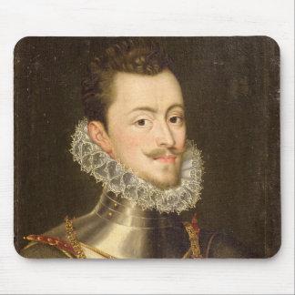 Portrait of Don John of Austria Mousepads