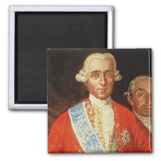Portrait of Don Jose Monino y Redondo I Magnet