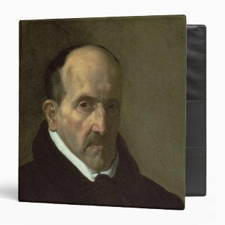 Portrait of Don Luis de Gongora y Argote  1622 Binder