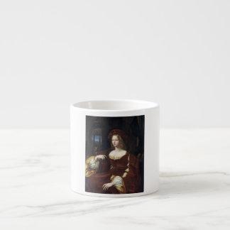 Portrait of Doña Isabel de Requesens by Raphael Espresso Cup