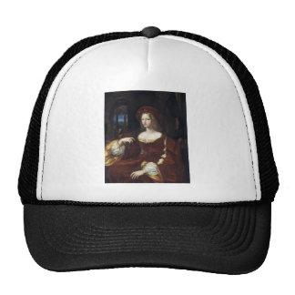 Portrait of Doña Isabel de Requesens by Raphael Trucker Hat