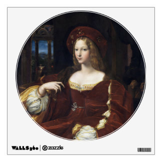 Portrait of Doña Isabel de Requesens by Raphael Wall Decal