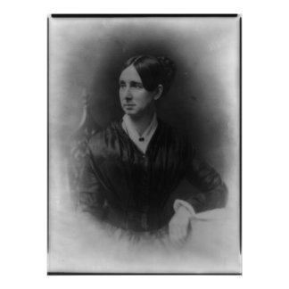 Portrait of Dorothea Lynde Dix Poster