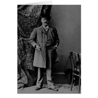Portrait of Dr. Barnardo Card