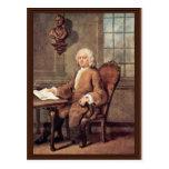 Portrait Of Dr. Benjamin Hoaldy By Hogarth, Postcard