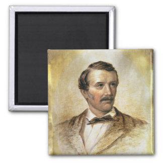 Portrait of Dr David Livingstone Refrigerator Magnets