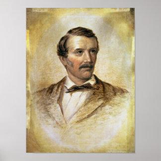 Portrait of Dr David Livingstone Poster