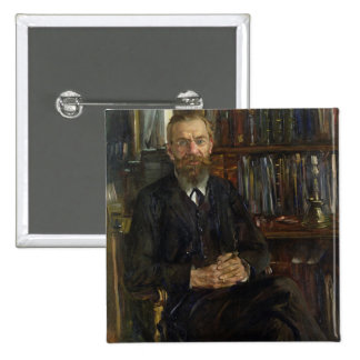 Portrait of Dr Edward Meyer  1910-11 Pinback Button