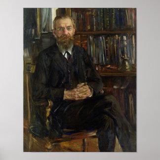 Portrait of Dr Edward Meyer  1910-11 Poster