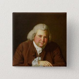 Portrait of Dr Erasmus Darwin Pinback Button