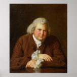 Portrait of Dr Erasmus Darwin Print