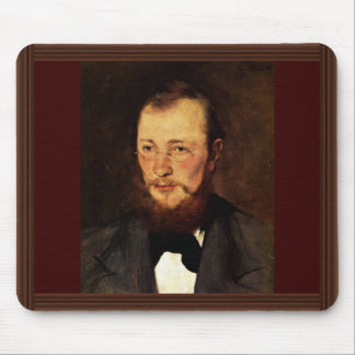 Portrait Of Dr. Frederick Rauert By Leibl Wilhelm Mouse Pad
