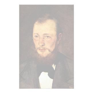 Portrait Of Dr. Frederick Rauert By Leibl Wilhelm Stationery