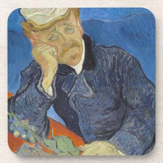 Portrait of Dr Gachet by Vincent Van Gogh Beverage Coaster