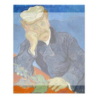Portrait of Dr Gachet by Vincent Van Gogh Flyer