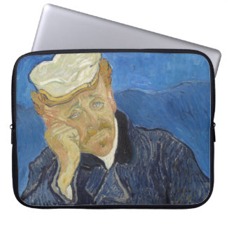 Portrait of Dr Gachet by Vincent Van Gogh Laptop Sleeve