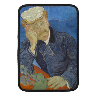 Portrait of Dr Gachet by Vincent Van Gogh MacBook Sleeve