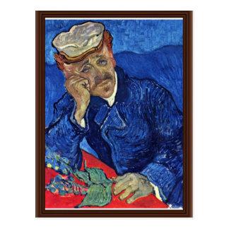 Portrait Of Dr. Gachet By Vincent Van Gogh Post Cards