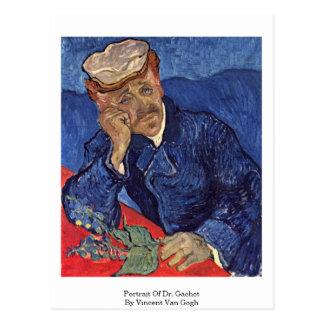 Portrait Of Dr. Gachet By Vincent Van Gogh Postcard