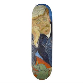 Portrait of Dr Gachet by Vincent Van Gogh Skateboard Deck