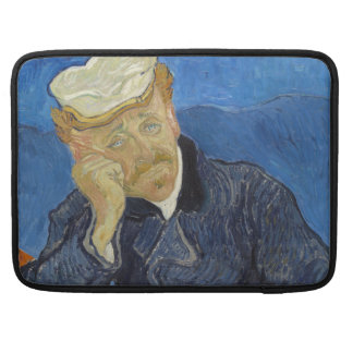 Portrait of Dr Gachet by Vincent Van Gogh Sleeve For MacBooks