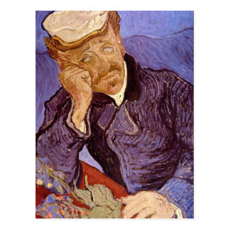 Portrait of Dr Gachet by Vincent Willem van Gogh Postcards