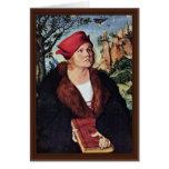 Portrait Of Dr. Johannes Cuspinian By Cranach D. Ä Greeting Card