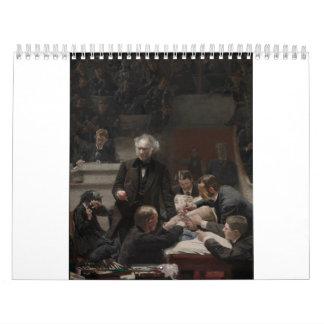 Portrait of Dr. Samuel D. Gross by Thomas Eakins Calendars