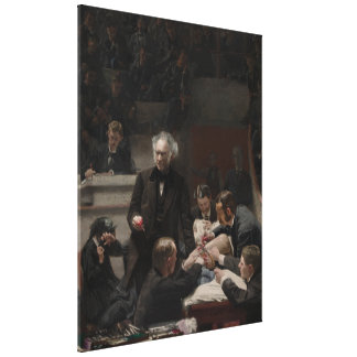 Portrait of Dr. Samuel D. Gross by Thomas Eakins Canvas Print