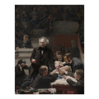 Portrait of Dr. Samuel D. Gross by Thomas Eakins Customized Letterhead